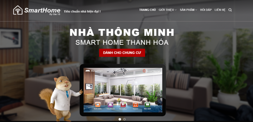 Dự án SmartHome Thanh Hóa